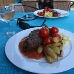 Nydelig middag til alle deltakere.