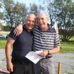 Fred Stabell (5. plass) og vår eminente turneringsleder Paul Beaulieu