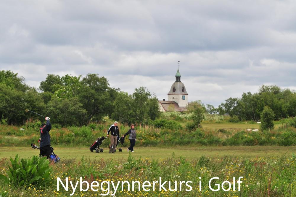 Nybegynnerkurs i Golf