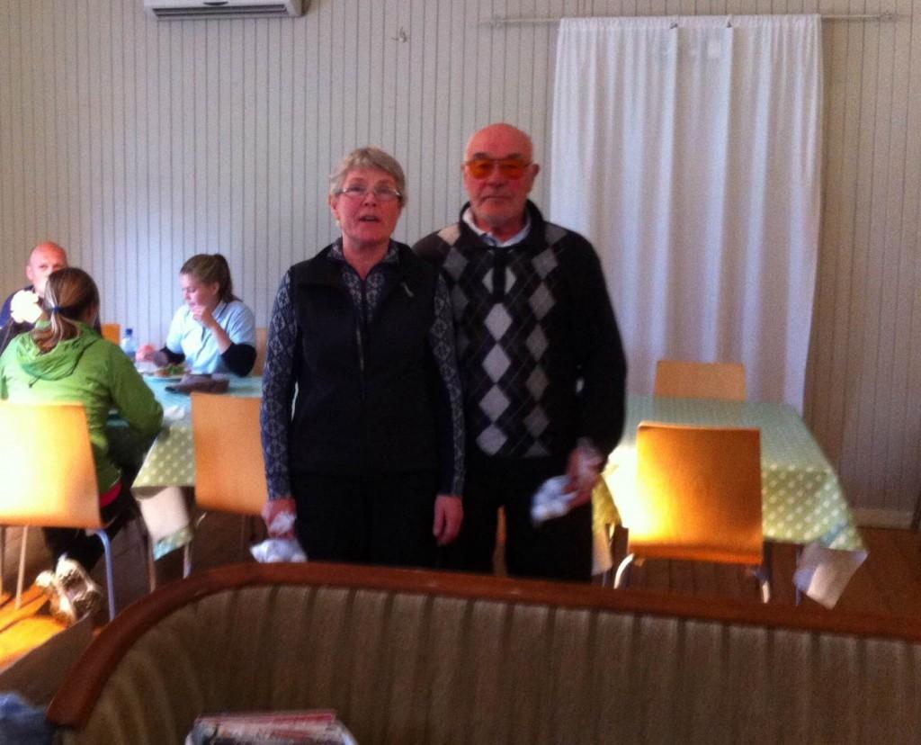Tredjeplass, Sonja Hemmingby og Bjarne Oksvold